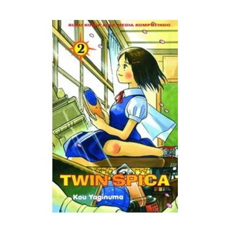 Grazera Twin Spica Vol 02 by Yaginuma Kou Buku Komik