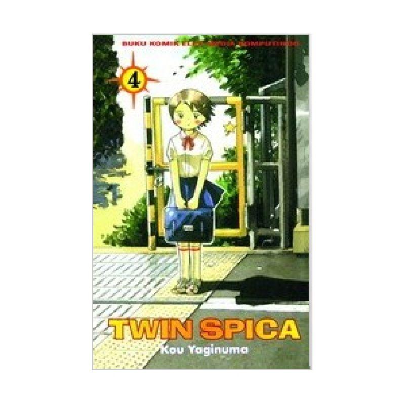 Grazera Twin Spica Vol 04 by Yaginuma Kou Buku Komik