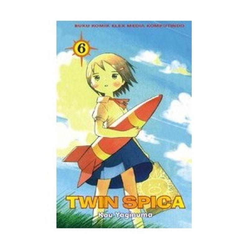 Grazera Twin Spica Vol 06 By Kou Yaginuma Buku Komik