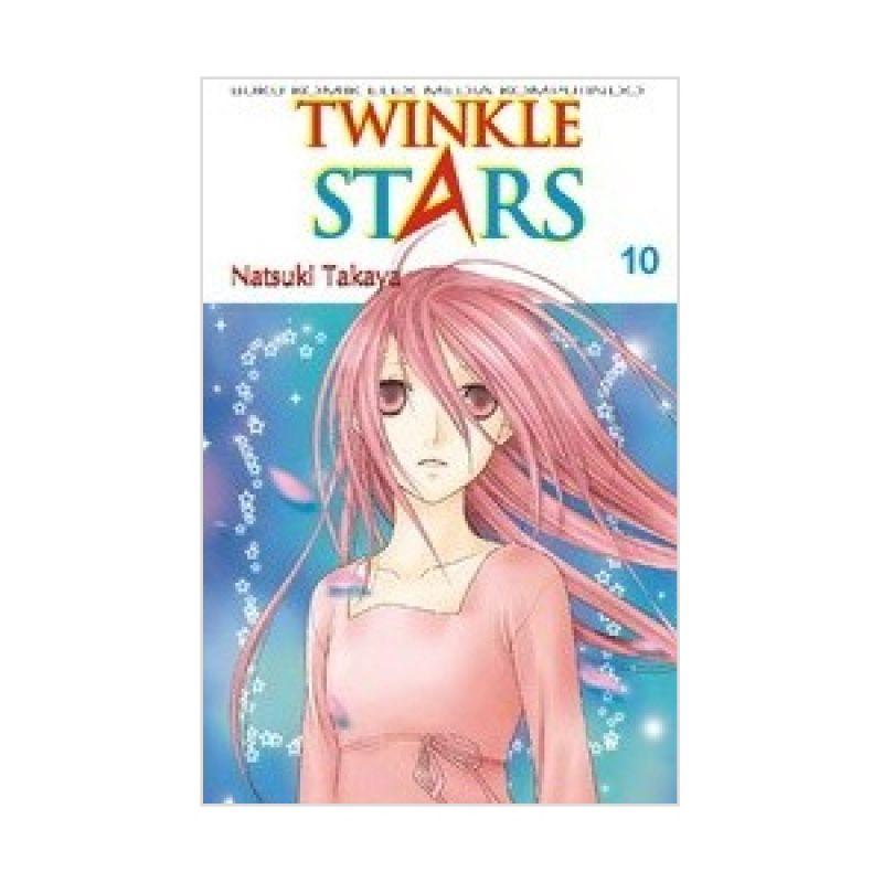 Grazera Twinkle Stars Vol 10 By Natsuki Takaya Buku Komik