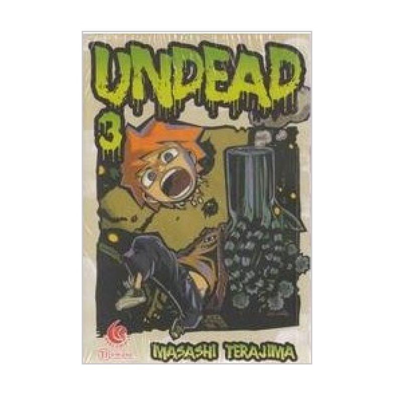 Grazera Undead Vol 03 by Masashi TERAJIMA Buku Komik