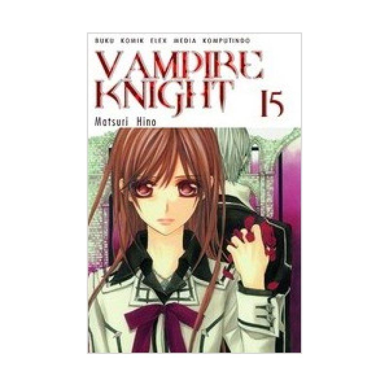 Grazera Vampire Knight Vol 15 by Matsuri Hino Buku Komik