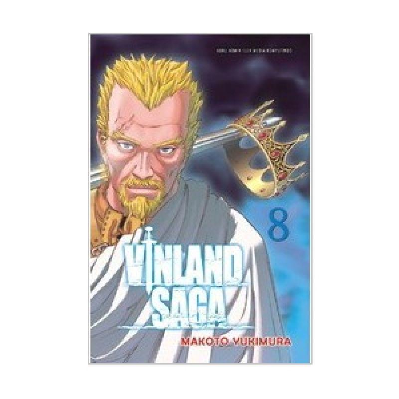 Grazera Vinland Saga Vol 08 by Makoto Yukimura Buku Komik