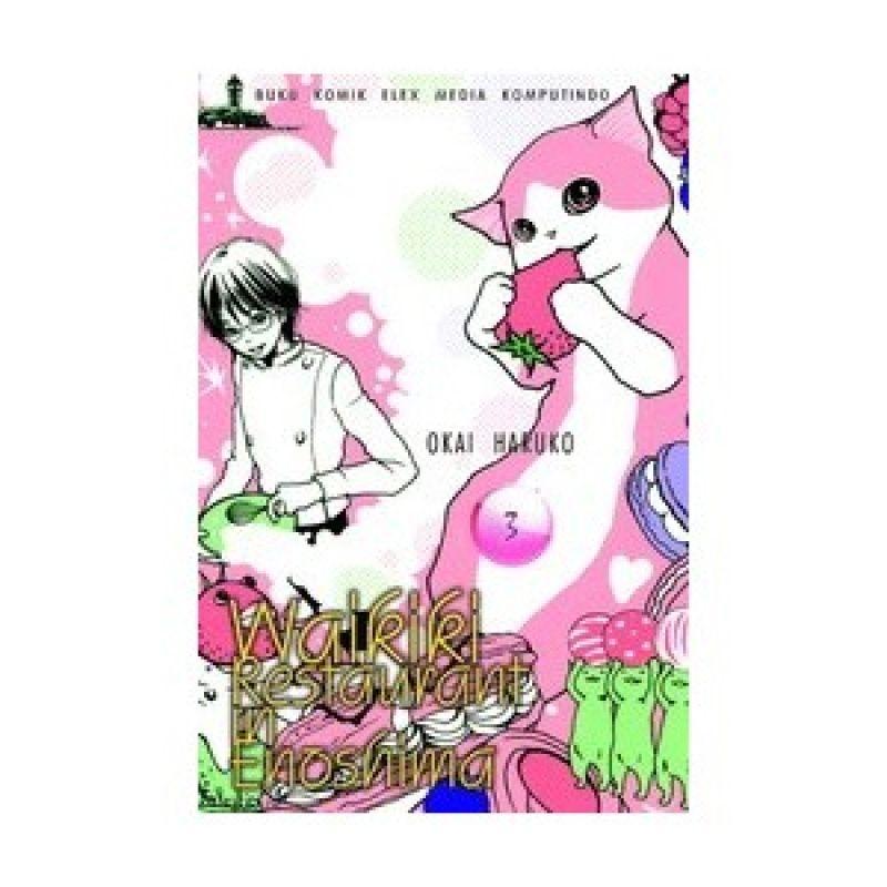 Grazera Waikiki Restaurant In Enoshima Vol 03 By Okai Haruko Buku Komik
