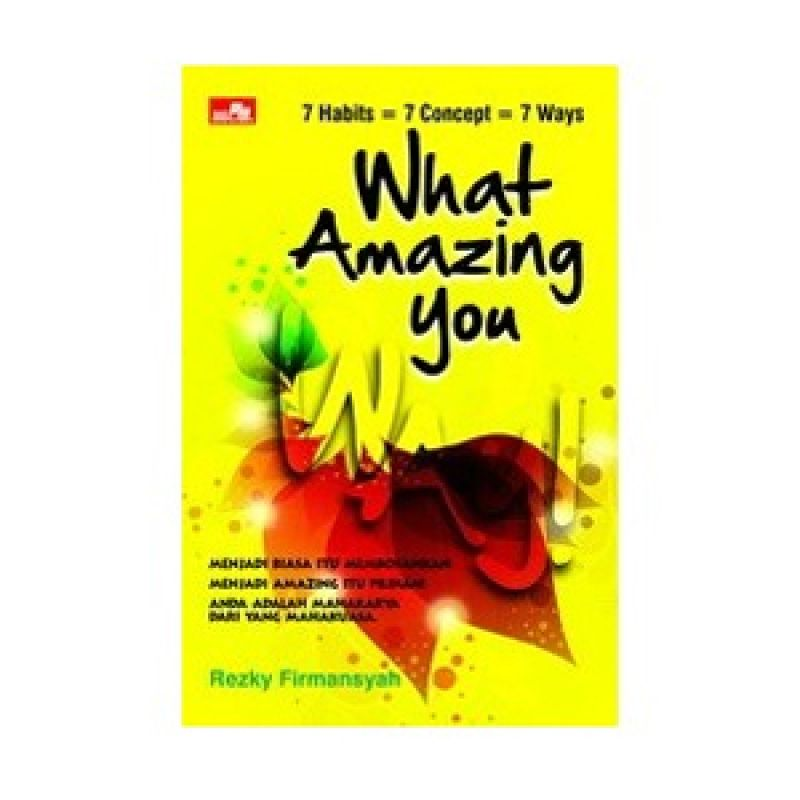 Grazera What Amazing You! by Rezky Firmansyah Buku Motivasi