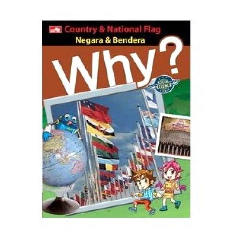 Grazera Why? Country and National Flag by Yearimdang Buku Komik