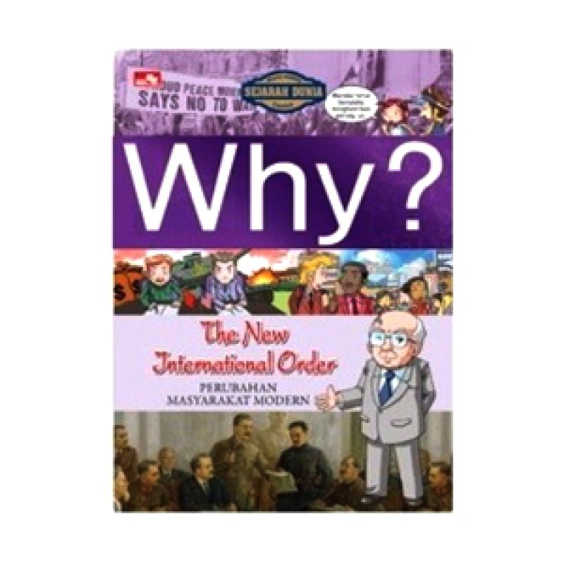 Grazera Why? The New International Order by Cho Han Ook Buku Komik
