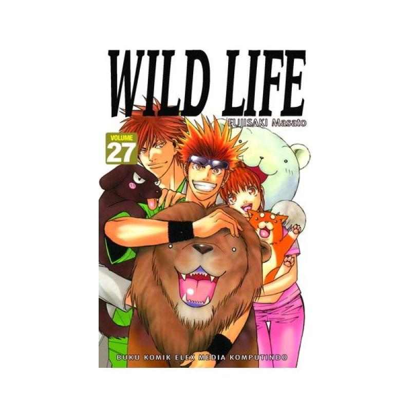 Grazera Wild Life Vol 27 by Fujisaki Masato Buku Komik