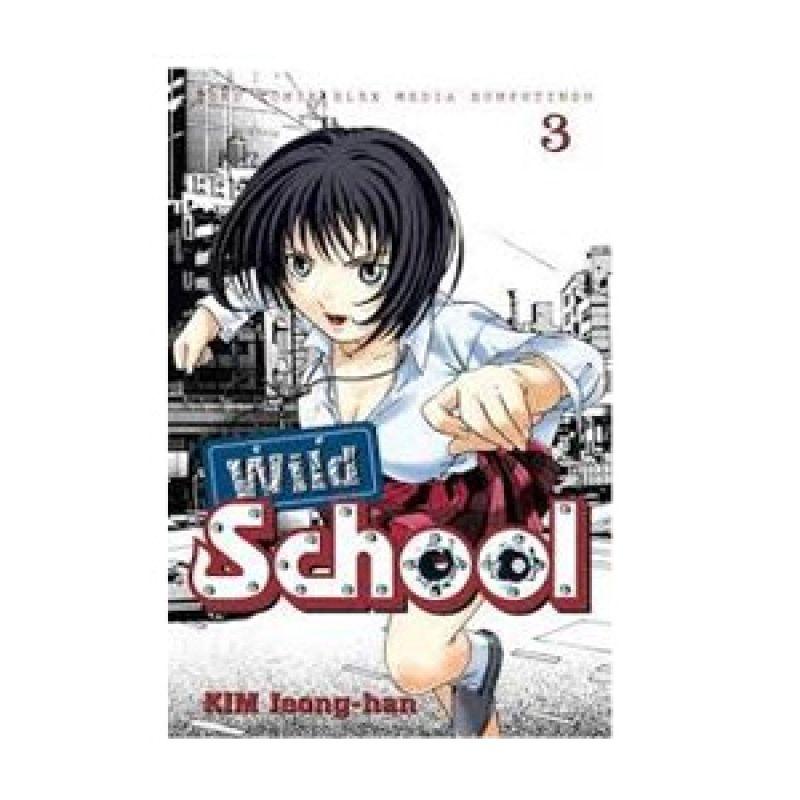 Grazera Wild School Vol 03 by Kim Jeong-Han Buku Komik