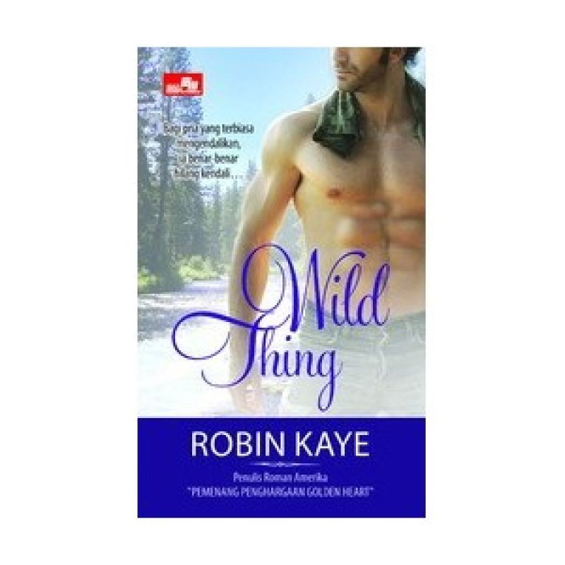 Grazera Wild Thing by Robin Kaye Buku Fiksi