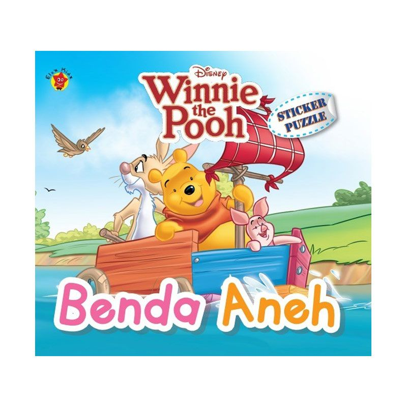 Grazera Winnie The Pooh Sticker Puzzle Benda Aneh By Disney Buku Anak