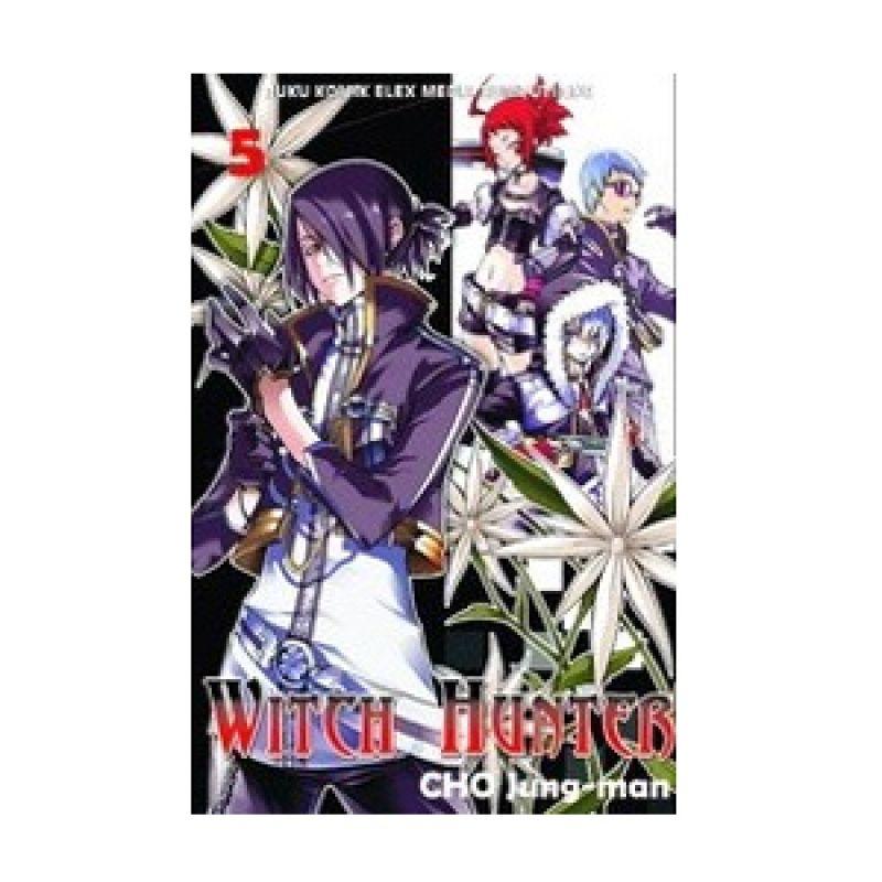 Grazera Witch Hunter Vol 05 by Cho Jung-Man Buku Komik