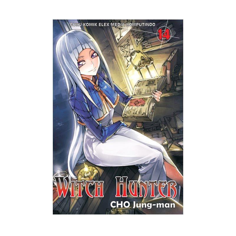 Grazera Witch Hunter Vol 14 by Cho Jung-Man Buku Komik