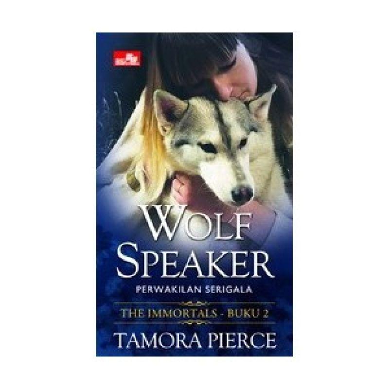 Grazera Wolf Speaker by Tamora Pierce Buku Fiksi