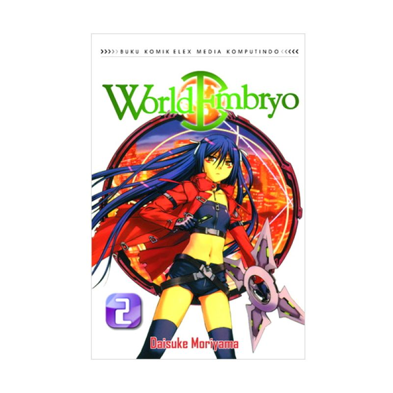 Grazera World Embryo Vol 02 by Daisuke Moriyama Buku Komik