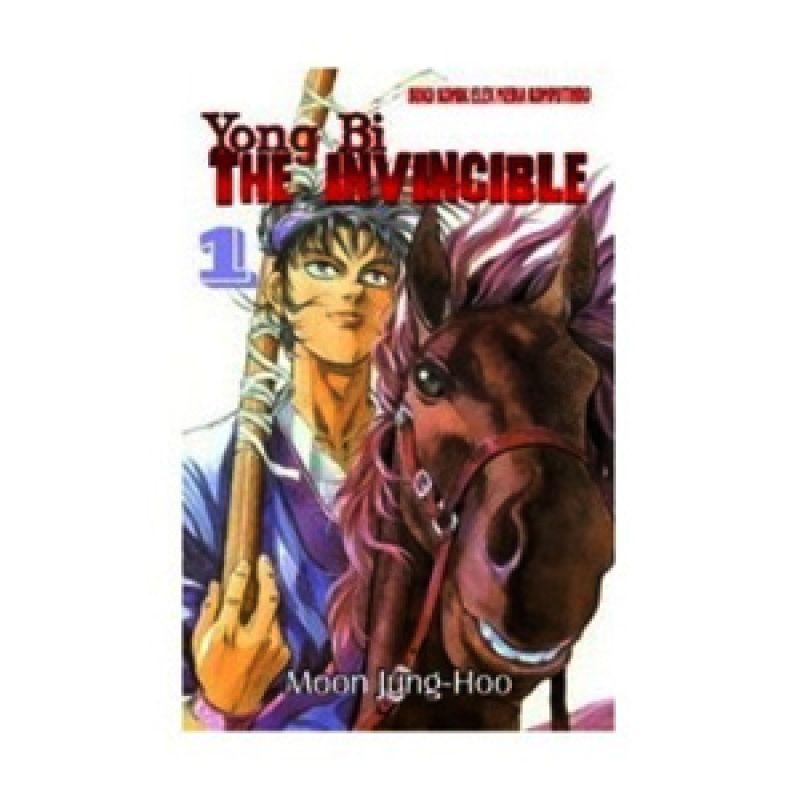Grazera Yong Bi The Invincible Vol 01 by Ryu Ki-Woon Buku Komik