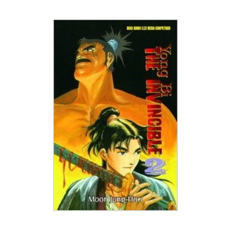 Grazera Yong Bi The Invincible Vol 02 by Ryu Ki-Woon Buku Komik