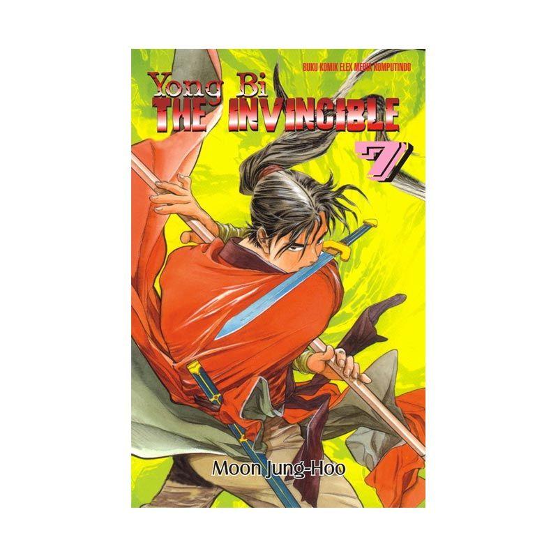 Grazera Yong Bi The Invincible Vol 07 by Moon Jung-Hoo Buku Komik