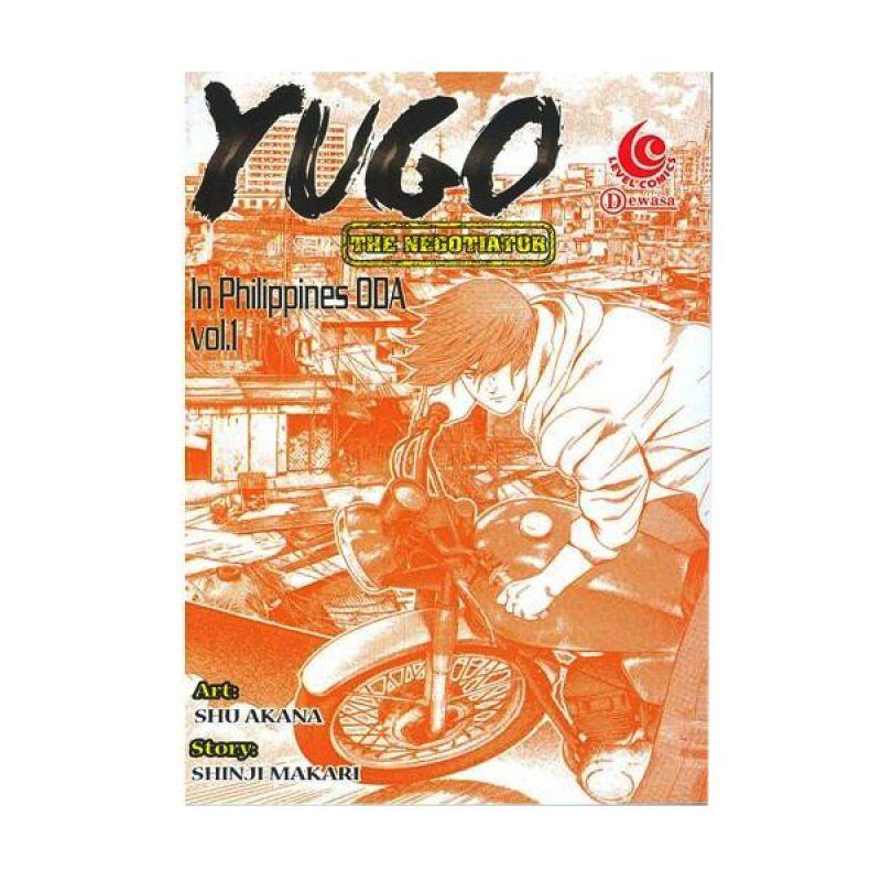 Grazera Yugo in Philippines ODA Vol 01 by Shu Akana Buku Komik