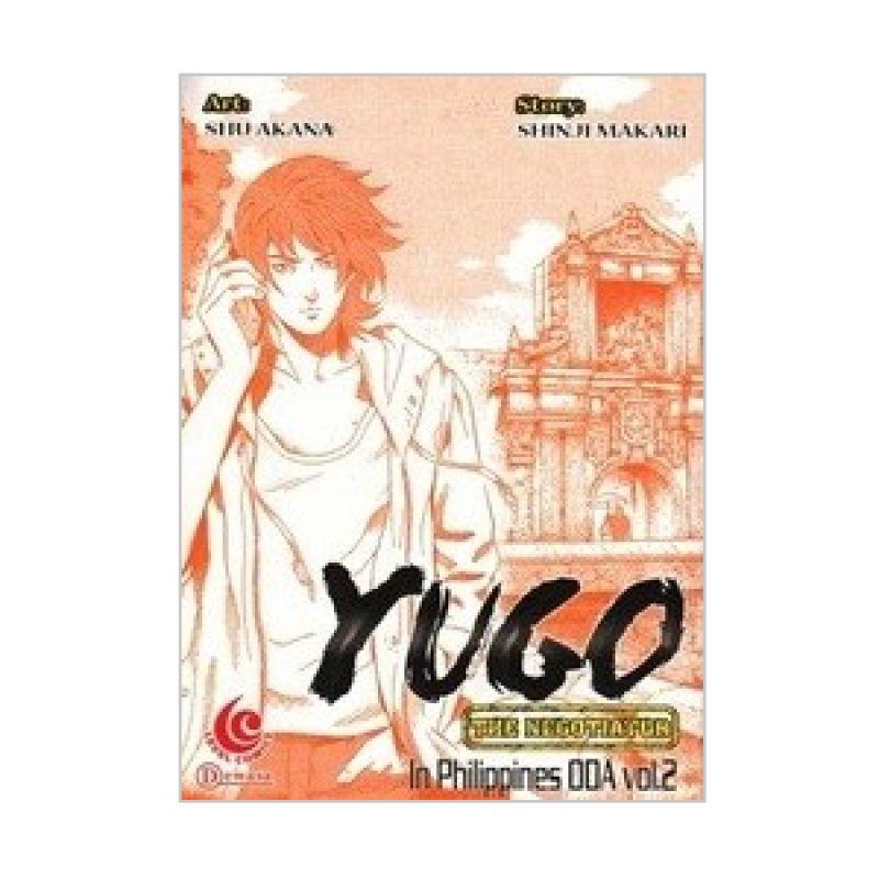 Grazera Yugo In Philippines Oda Vol 02 by Shinji Makari Buku Komik
