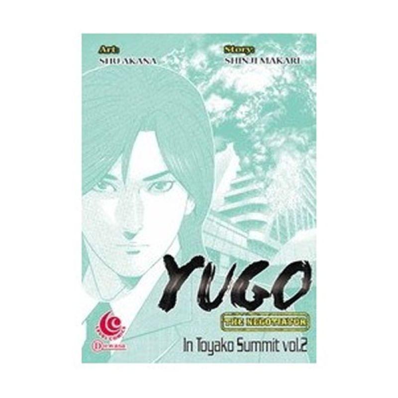 Grazera Yugo Toyako Summit Vol 02 by Shu Akana Buku Komik