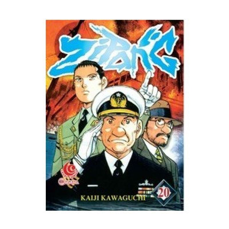 Grazera Zipang Vol 20 by Kaiji Kawaguchi Buku Komik