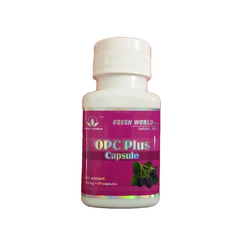 Green World OPC Plus Herbal Kesehatan Kulit Suplemen [60 Kapsul]