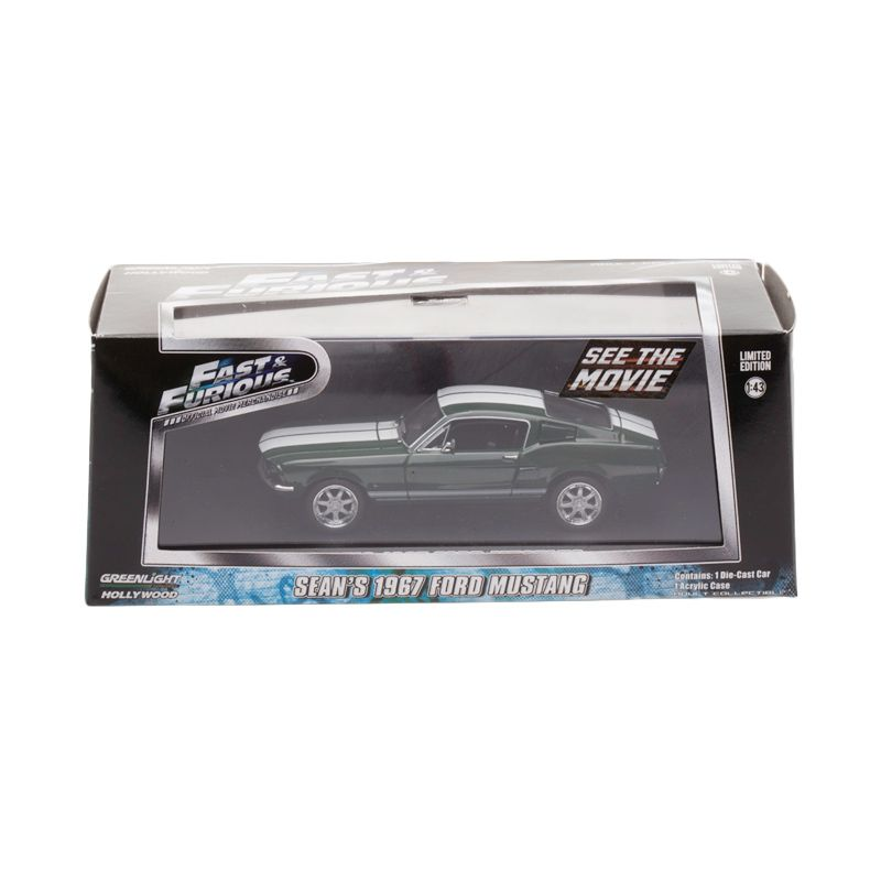 harga Greenlight Fast And Furious Sean's 1967 Ford Mustang Diecast Blibli.com