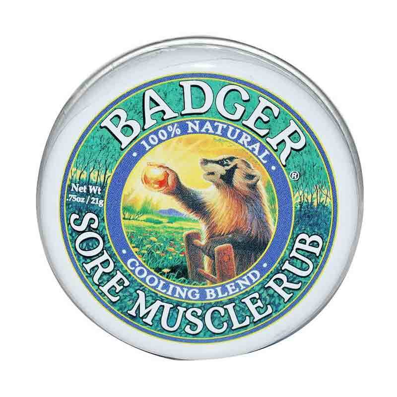 BADGER Cooling Blend Sore Muscle Rub
