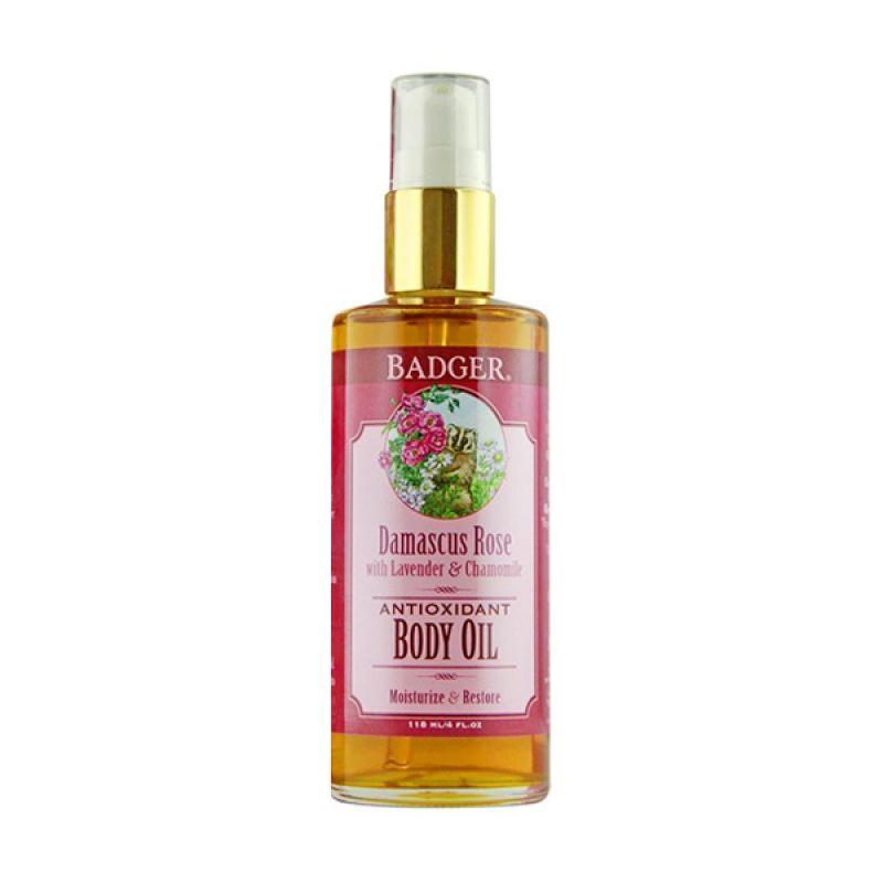 BADGER Damascus Rose - Body Oil