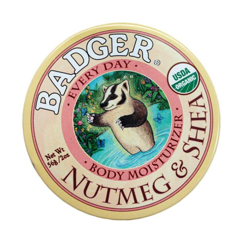 BADGER Nutmeg & Shea Body Butter