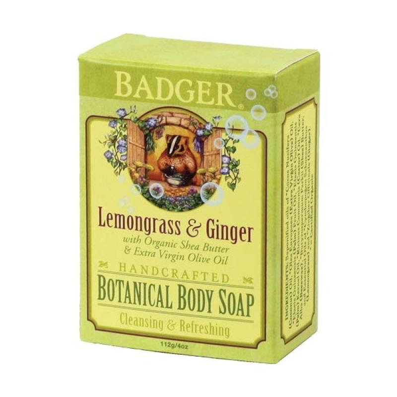 BADGER Organic Body Wash with Lemongrasess & Ginger