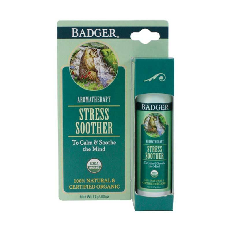 BADGER Organic Stress Soother Balm Stick