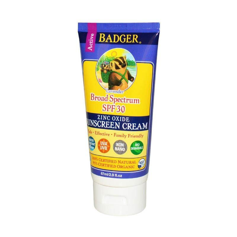 BADGER SPF 30 Broadspectrum Zinc Oxide - Lavender
