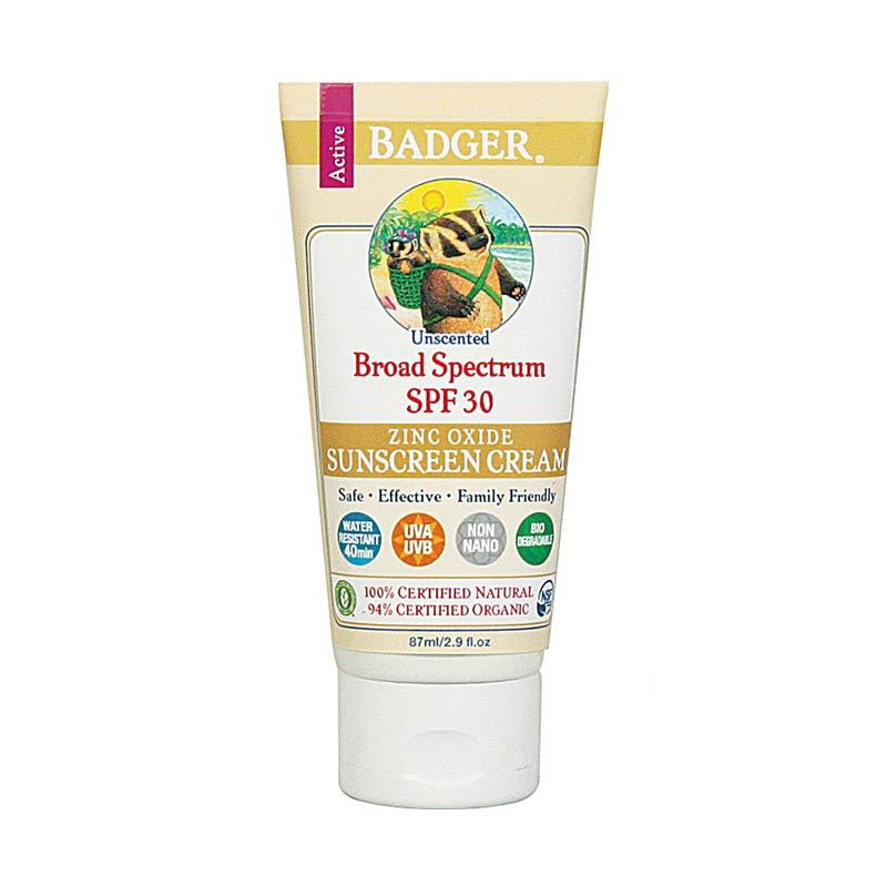 BADGER SPF 30 Unscented Face & Body