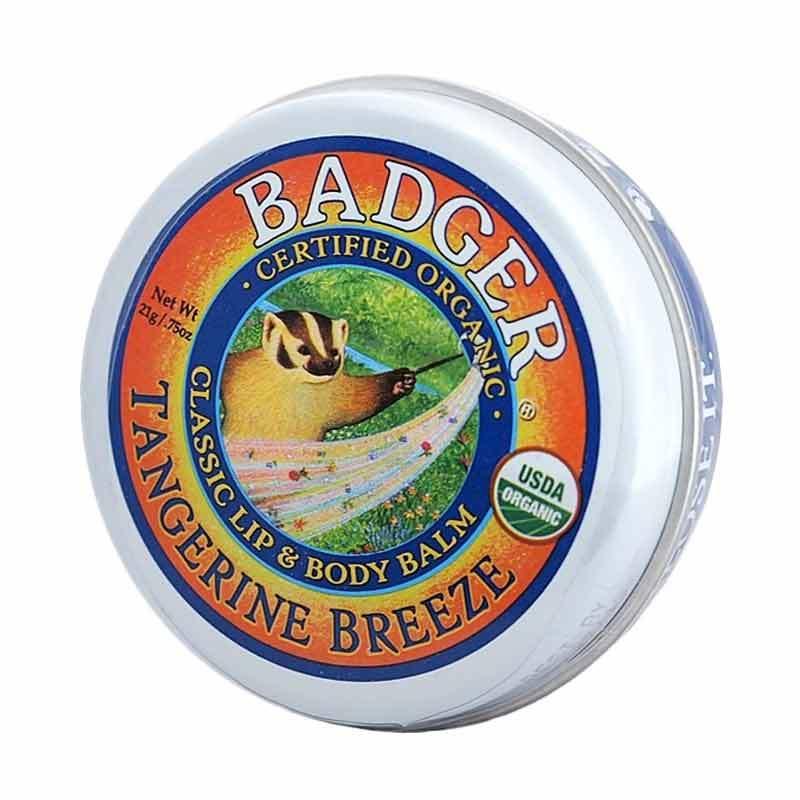 BADGER Tangerine Breeze Lip & Body Balm