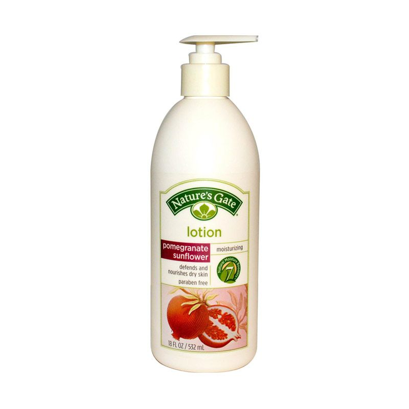 Nature's Gate Body Lotion - Pomegranate Sunflower Skin Defense