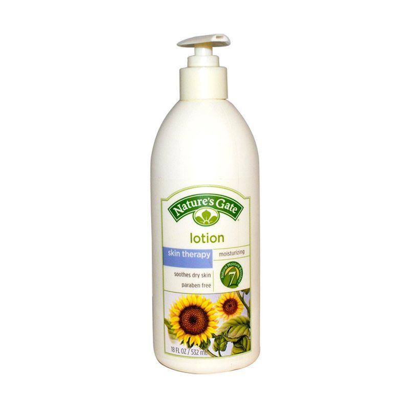 Nature's Gate Body Lotion - Skin Therapy for Dry, Chapped, Cracked Skin