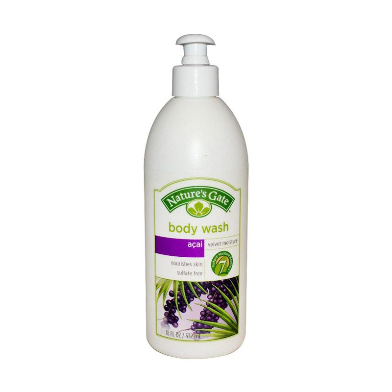 Nature's Gate Body Wash - Acai Velvet Moisture