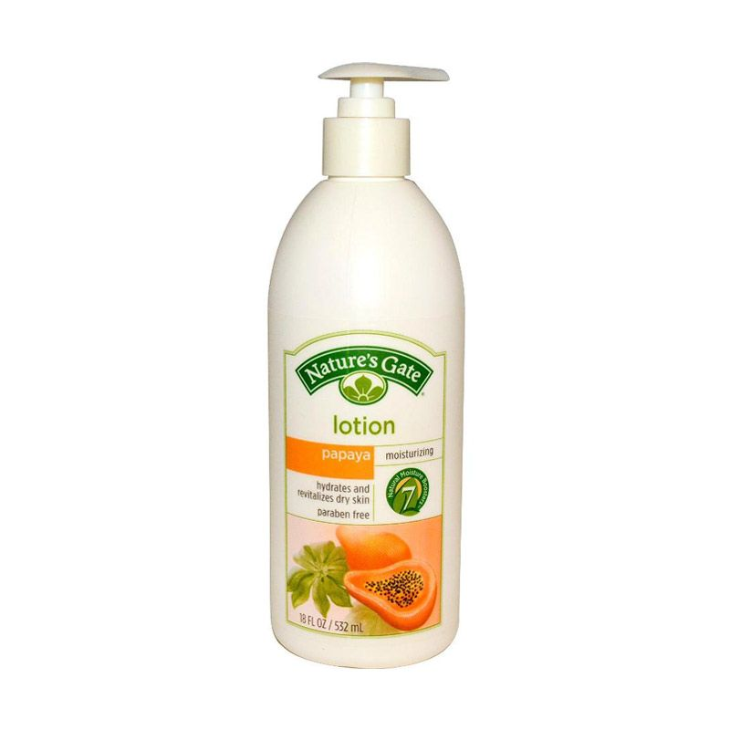 Nature's Gate Body Wash - Papaya Velvet Moisture