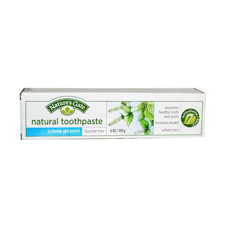 Nature's Gate Natural Toothpaste - Creme de Mint