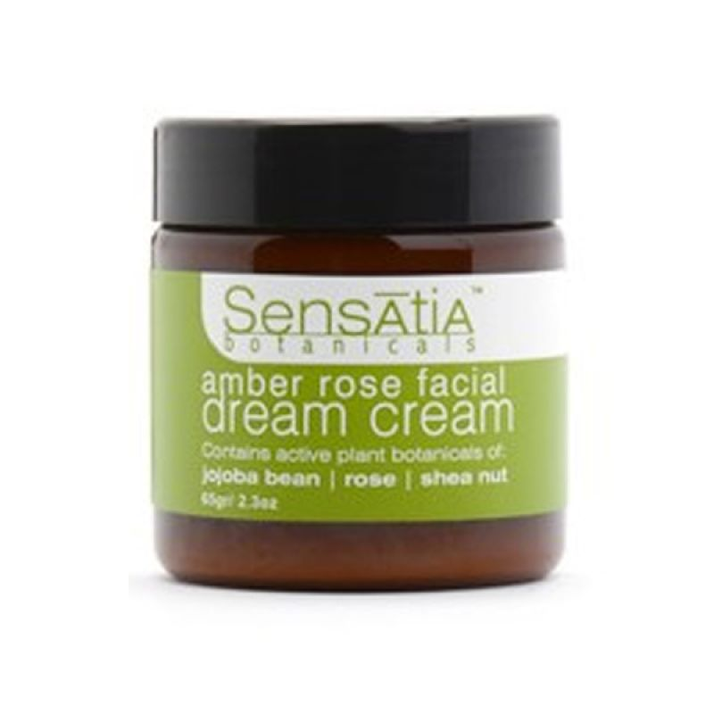 Sensatia Botanicals Natural Amber Rose Facial Dream Cream