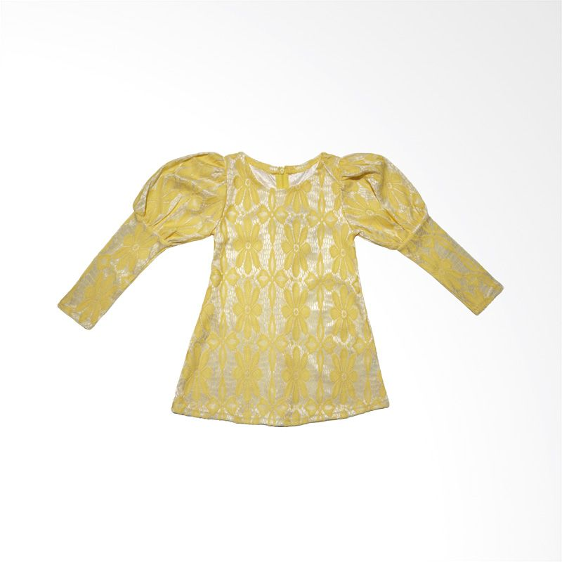 Gregbebeshop Kuning Mini Dress Anak