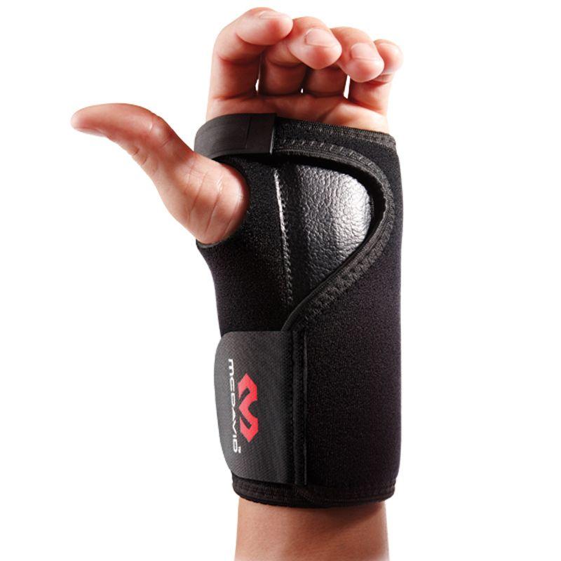 McDavid 454 Black Adjustable Wrist Brace Alat Pelindung [Right]