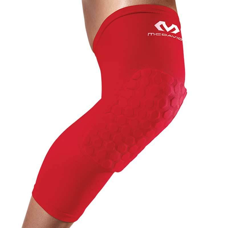 McDavid HEX 6446 Scarlet Leg Sleeves Alat Pelindung [Pair]