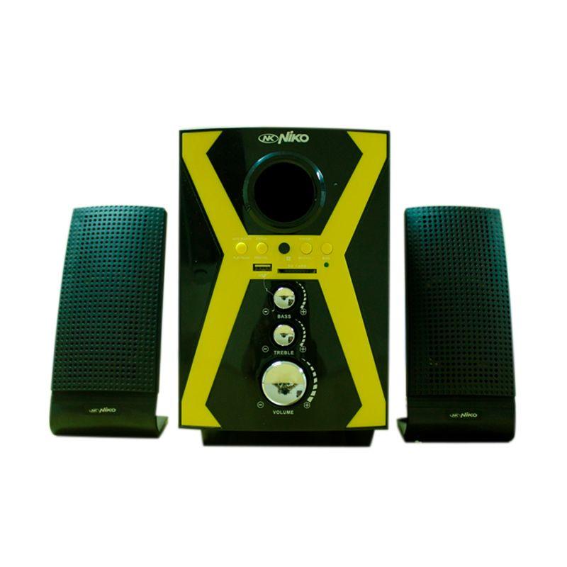 Niko 2.1 NK-S21BR Kuning Speaker