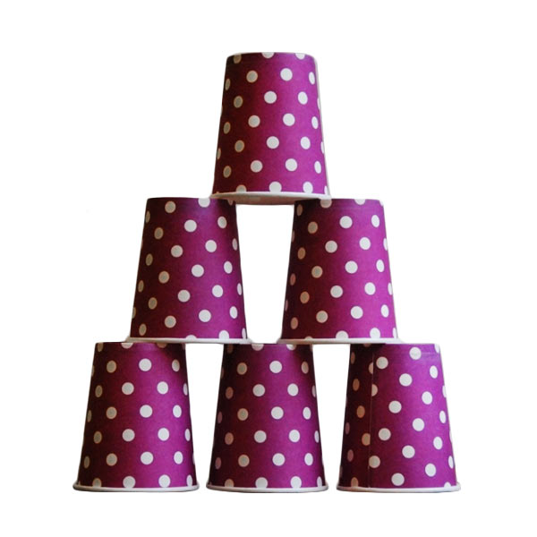 harga Grins and Giggles Paper Cup Dot Gelas Kertas - Ungu Blibli.com