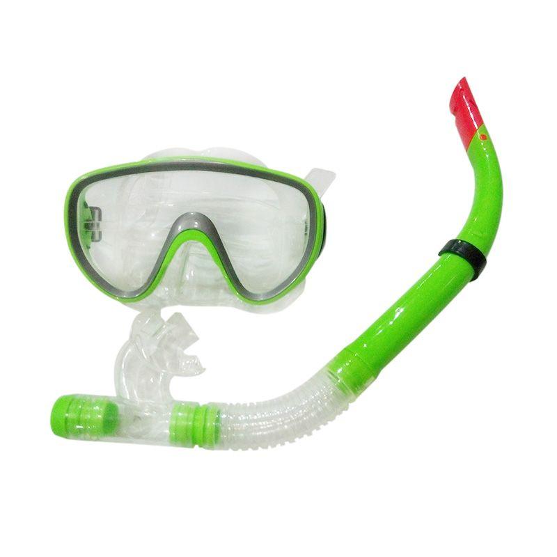 harga Griya's Mask & Snorkle Set Alat Selam - Green Blibli.com