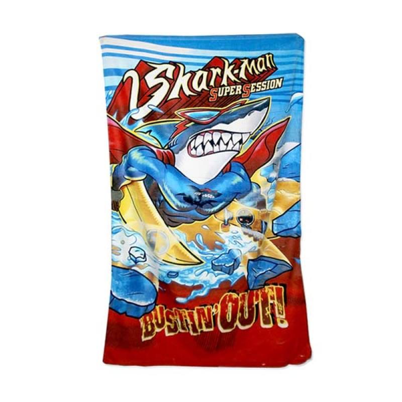G-Shark Beach Towel v2-Bustinout