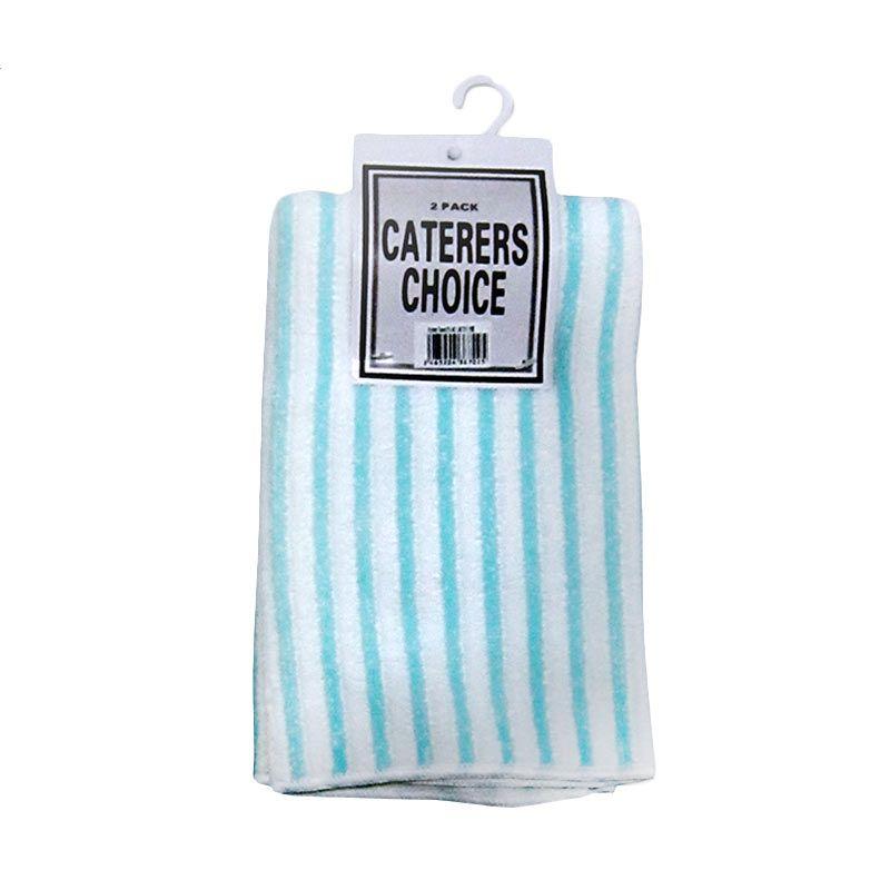 G-Table Rag (40x48)-Turquoise White